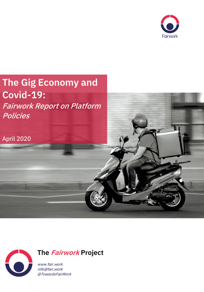 The Gig Economy and Covid 19