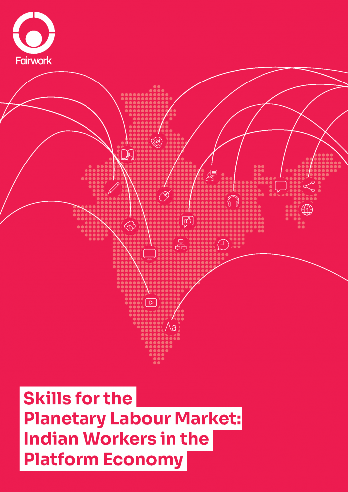 Skills for the Planetary Labour Market - Indian Workers in the Platform Economy cover